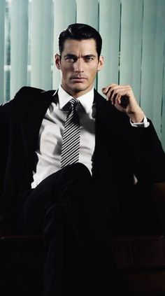 """DAVID GANDY-Model your """"Christian Grey"""" character after this man and you'll never go wrong!"""