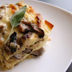 Brown Butter Sage Mushroom Lasagna