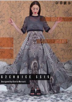 G2CHOICE SS15 Collection Fashion Designer: Giulia Mercati