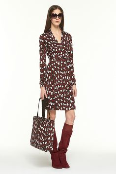 The DVF wrap dress... timeless. One of the styles is called the New Jeanne.