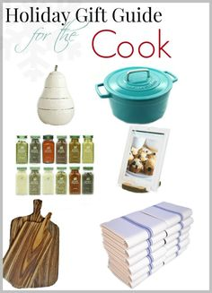 A holiday gift guide for the cook in your life.