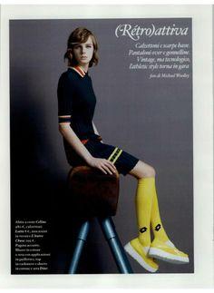 Io Donna - Italy  lautrechose  fashion  moda  ss2014  shoes  yellow f1fc1c99140