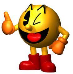 pac man world logo   Los personajes más populares de los videojuegos