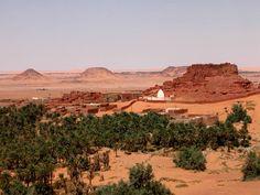 Vieux ksar près de Timimoun Sahara Algérie