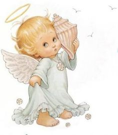 """Photo from album """"дети, куколки"""" on Yandex. Angel Images, Angel Pictures, Cute Pictures, Gif Animé, Animated Gif, Gifs, Free Angel, Angel Drawing, Angels Among Us"""