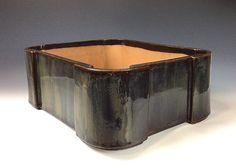 """Iker Bonsai Pots - Primitive Rectangle Bonsai Pot, 13 3/4"""" x 10 3/4"""" - 15460, $152.00 (http://www.ikerbonsaipots.com/primitive-rectangle-bonsai-pot-13-3-4-x-10-3-4-15460/)"""