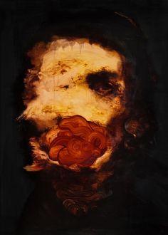 2headedsnake | myampgoesto11: Peintures par Johan Van Mullem lundi ...