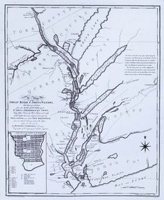 """Black Loyalist Settlements  This 1788 map of a part of Nova Scotia shows, in the lower left corner, the area of the """"Negro Settlements."""""""