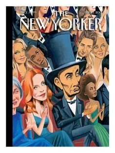 """The New Yorker - Monday, February 2013 - Issue # 4488 - Vol. 89 - N° 2 - Cover """"Star-Studded Evening"""" by Mark Ulriksen The New Yorker, New Yorker Covers, Story Drawing, Magazine Art, Magazine Covers, Illustrations And Posters, Cover Art, Movie Stars, Giclee Print"""