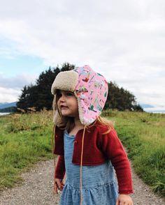 Oma + Jo bonnet // Instagram post