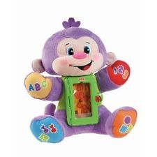 Apptivity Monkey. Keeps your little one  occupied. Great for long car rides and airplane trips... a must have!