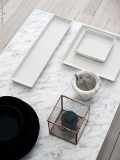 PLATEFUL OF LOVE: Pimp Ikea table with marble