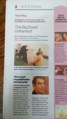 The Big Draw Unframed (2016) in het BD (27-10-2016)