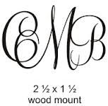 "monogram tattoos  NOW I DO LIKE THIS!!!!!!!!!  BECAUSE IN THE SOUTH WE ""MONOGRAM"" EVER' THANG !!!!!!!!"