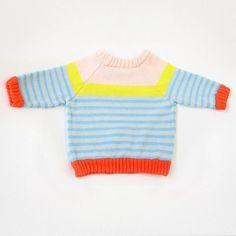 Baby Degen Springy Multi-Stripe Sweater color - bright - fun