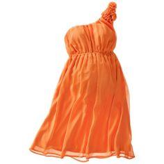 Merona® Maternity One-Shoulder Rosette Dress - Assorted Colors @Kayleen Brown ...do you like?