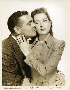 "Clark Gable and Deborah Kerr publicity still for ""The Hucksters"", 1947"
