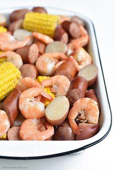 Low Country Boil Recipe shewearsmanyhats.com