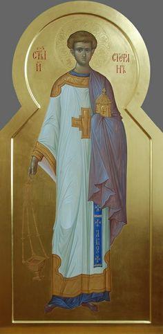 Byzantine Icons, Byzantine Art, Roman Church, Saint Stephen, Ceiling Art, Best Icons, Religious Icons, Orthodox Icons, Sacred Art