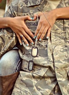 Military photo shoot