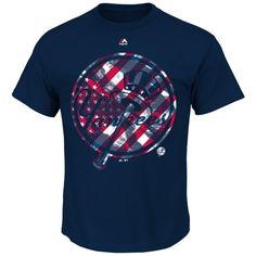 Majestic New York Yankees Navy Stars And Spirited T-Shirt
