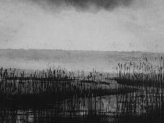 Brancaster Sunset by Norman Ackroyd exhibiting artist at North House Gallery Manningtree, Essex Landscape Drawings, Abstract Landscape, Landscape Paintings, Norman Ackroyd, A Level Art, Abstract Watercolor, Portrait Art, Painting Inspiration, Light In The Dark