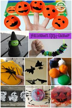 Easy Halloween Crafts for Kids - Kids Activities Blog Since it's almost halloween, I'm going to be pinning a lot of halloween things. Be prepared! Follow the board 'Holidays' to get all of my halloween pins