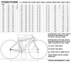PANASONIC NJS Track Frame - Keirin Custom Order 47cm-63cm - $1,090.00 : Track Supermarket - NJS/Keirin track/fixed gear bikes, frames, and p...