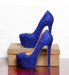 2013 new arrive red soles bottoms lady royal blue glitter leather high heels for woman shoes glitter wedding shoes womens $98.99