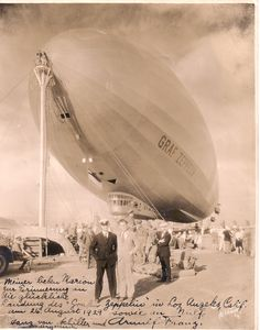 Probably the coolest photo of a Zeppelin that I've ever come across.
