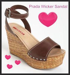 @prada #wicker sandals liked by @wickerparadise