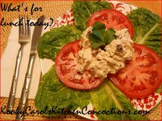 Kooky Carol's Chicken Salad.  Absolutely delicious, I promise!!