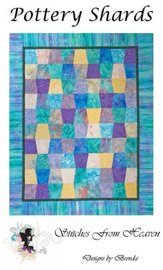 Pottery Shards quilt pattern