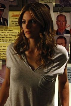 Kate Beckett's hair