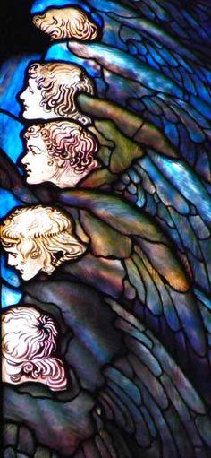 First Presbyterian Church, Syracuse, NY #angels #vitraux