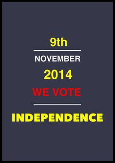 9th November 2014 Catalonia will hold a Referendum to decide the future. Catalonia next state of Europe.