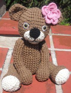 Customizable Crochet Teddy Bear Toy | ninascorner - Crochet on ArtFire