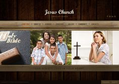 Jesus Church HTML5 Template 300111486 by Dynamic Template