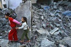 Simone Cumbo - Poesie : Le macerie di Gaza