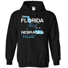 (FLJustXanh001) Just ᐊ A Florida Girl In A Nebraska WorldIn a/an name worldt shirts, tee shirts
