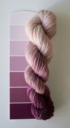 Berry Bash begins with a lilac purple and changes to a deep berry-plum.