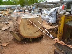 build a sawmill - Google Search Chainsaw Mill, Wood Mill, Rough Wood, Firewood, Woodworking, Projects, Milling, Heavy Equipment, Cheat Sheets