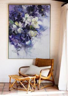 Large Wall Art Abstract Acrylic Painting Original Painting Oil Painting Canvas Art Large Canvas Art Paintings On Canvas Flower Art - Painting