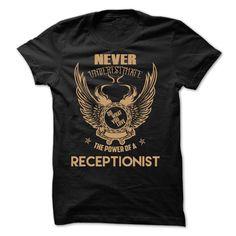 NEW-Receptionist T Shirt, Hoodie, Sweatshirt
