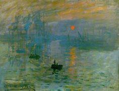 Impression at Sunrise - Claude Monet