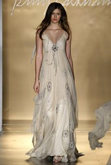 Jenny Packham - Fall 2008 : Wedding Dresses Gallery  {does it come in blue ombre?}