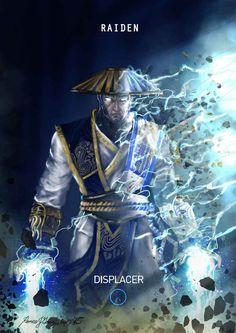Mortal Kombat X Raiden Displacer by Grapiqkad on DeviantArt