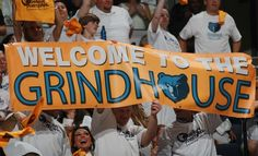 April 29, 2012 - Grizzlies fans during Game 1 at the FedExForum Sunday evening. (The Commercial Appeal/ Nikki Boertman)