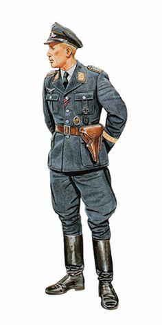 Major, División Meindl, Staraya Russa, verano de 1942.