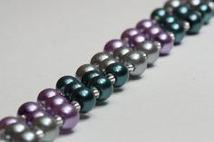 Fake pearl bracelet by AGoodBead on Etsy, $10.00